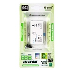 USB 2.0 All in 1 Card Reader IC-810 สีขาว