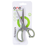 "ONE BR1 Scissors 6"" Gray-Yellow"